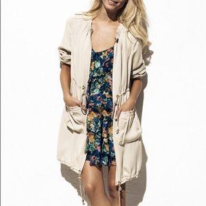 H&M Garden Collection Floral Dress Top size 2